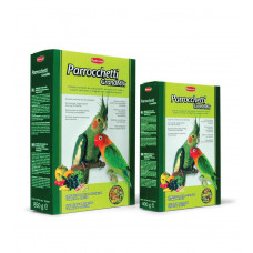 Padovan Грандмикс паррочетти - основной корм для средних попугаев 400 г