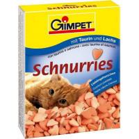 Gimpet Витамины Сердечки для кошек Лосось (1 табл)