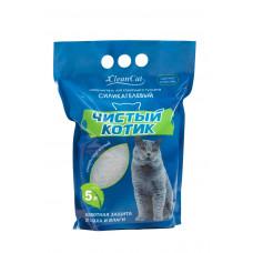 Чистый Котик Наполнитель силикагелевый 5 л