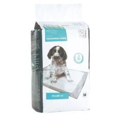 M-Pets Puppi Training Pads Пелёнки  впитывающие с Липкой лентой для животных, 45*60 см, 1 шт
