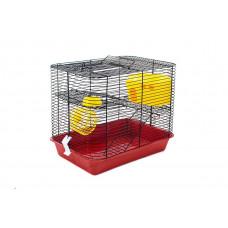 4206 Дарэлл Клетка для мелких грызунов с этажом, 38*26*30 см (укомплект)