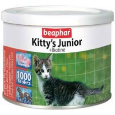 Beaphar Kitty s Junior Витаминизированное лакомство для котят, Сердечки, 1 табл