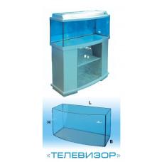 Авгуръ Аквариум телевизор 45 л (с цветной крышкой)