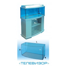 Авгуръ Аквариум телевизор 100 л (с цветной крышкой Т8)
