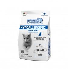 Forza10 HYPOALLERGENIC ACTIVE Корм сухой для кошек с пищ. неперен., дерматиты, зуд, аллергия), 454 г