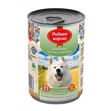 Родные корма Корм конс. для собак Скоблянка мясная по-городецки 410 г