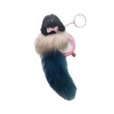 121 Игрушка для животных Погремушка Меховая мышь на резинке, 1 м