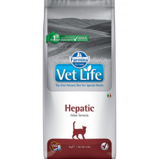 Farmina Vet Life Cat Hepatic Сухой корм для кошек при хронической печеночной недостаточности, 400 г