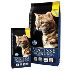Farmina MATISSE Корм сухой для взрослых котов и кошек с лососем и тунцом, 1,5 кг