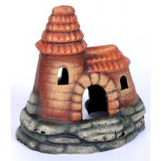 К-14 ГротАква Замок с высокой крышей, 14*10*14 см