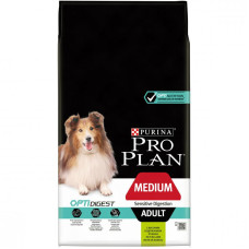 12366972 Про План для собак средних пород с чувствительным пищеварением с ягненком 14 кг