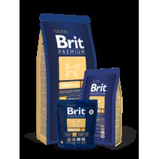 Brit Premium Adult M Корм сухой для взрослых собак средних пород от 10 до 25 кг с курицей, 1 кг