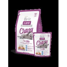 Brit Care Cat Crazy  Kitten Корм сухой для котят, беременных и кормящих кошек, 400 г