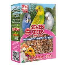 SUPERMIX 7 семян Корм для волнистых попугаев 1000 г