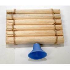 Плотик для земноводных - деревянный (малый)
