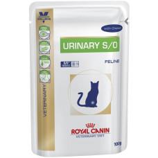 Роял Канин Urinary S/О Диета для кошек при лечении и профилактике мочекамен. болезни с курицей 100 г