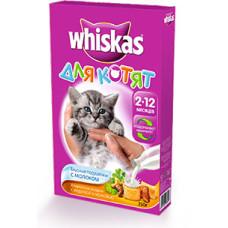 Вискас корм для котят с молоком индейкой и морковью 350 г