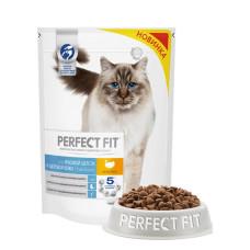 Перфект Фит для кошек для здоровой шерсти и красивой кожи, 650 г