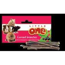 LITTLE ONE Лакомство для грызунов Ветви смородины для ухода за зубами, 50 г