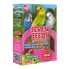 Special 7 семян Корм для волнистых попугаев с фруктами 400 г