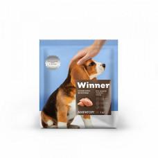 Winner сухой корм для щенков средних пород с курицей, фасовка 1 кг