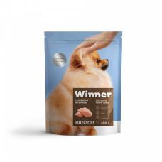 Winner сухой корм для щенков мелких пород с курицей, 0,8 кг