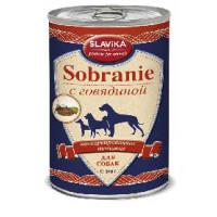 Славика Собрание Корм консерв. для собак с говядиной, 340 г