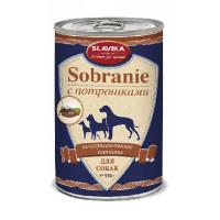 Славика Собрание Корм консерв. для собак с потрошками, 970 г