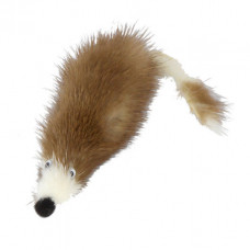 sh-07027 PETTO Игрушка Мышь норка M GoSi без уп. (мышь из натуральной норки), 5 см