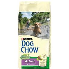 Дог Чау корм сухой для собак с ягненком и рисом 1 кг