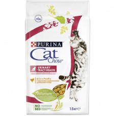 Кэт Чау Корм для кошек для поддержания здоровья мочевыводящих путей с птицей, 1,5 кг