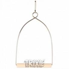 5825 TRIXIE Игрушка для птиц Качели деревянные 8х15 см