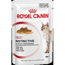 Роял Канин Инстинктив в желе влажный корм для кошек старше 1 года 85 г