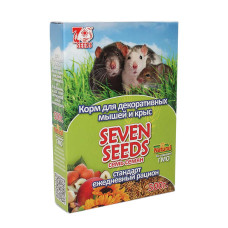 7 семян Корм для декоративных крыс и мышей, Стандарт, 500 г