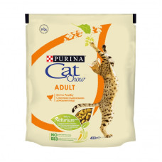 Кэт Чау Корм для кошек с домашней птицей 400 г