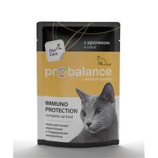 Пробаланс Immuno Protection пауч с кроликом в соусе 85 г