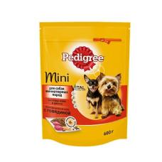 Педигри MINI для собак миниатюрных пород с говядиной 600 г