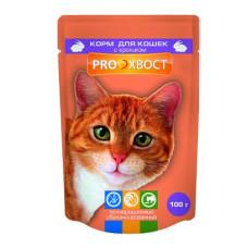 Proхвост Корм для кошек с кроликом в соусе 85 г