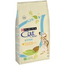 Кэт Чау Киттен Корм для котят с домашней птицей 1,5 кг