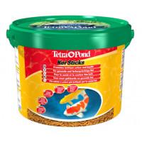 Корм для прудовых рыб Tetra Pond Koi Sticks палочки (ведро) 10 л
