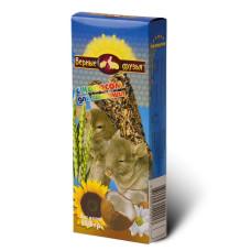 Верные друзья Лакомство для шиншилл с кокосом, 150 г
