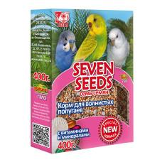 Special 7 семян Корм для волнистых попугаев с витаминами и минералами 400 г