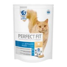 Перфект Фит для домашних кошек с курицей, 190 г