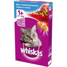 Вискас Special для стерилизованных кошек/кастр. котов с говядиной 350 г