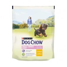 Дог Чау Корм сухой для взрослых собак мелких пород с курицей 800 г