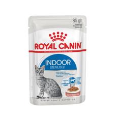 Роял Канин Индор Стерилайзд в соусе влажный корм для стерилизованных кошек 85 г