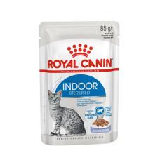 Роял Канин Индор Стерилайзд в желе влажный корм для стерилизованных кошек 85 г