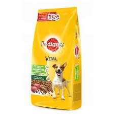 Педигри для взрослых собак мелких пород с говядиной 1 кг