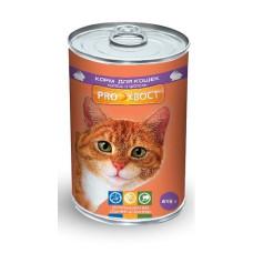 Proхвост Корм консерв. для кошек с кроликом 415 г