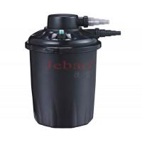 JEBAO Фильтр прудовый напорный PF-20E на пруд 10000 л, объём фильтра 20 л, UV 18 вт